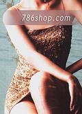 Golden Silk Trouser Suit- Pakistani Formal Designer Dress