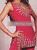 Hot Pink Silk Suit- Pakistani Party Wear Dress