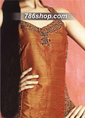 Rust Silk Trouser Suit- Indian Designer Clothing