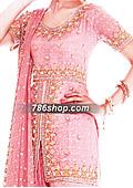Pink Jamawar Chiffon Gharara