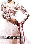 White Chiffon Suit- Pakistani Party Wear Dress