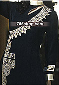 Black Chiffon Suit - Pakistani Party Wear Dress