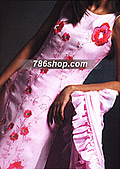 Pink Chiffon Suit - Pakistani Formal Designer Dress