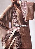 Beige Crinkle Suit
