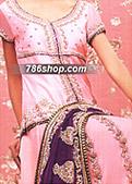 Pink Chiffon Lehnga Suit
