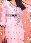 Pink Crinkle Chiffon Suit- Pakistani Party Wear Dress