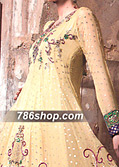 Cream Jamawar Chiffon Suit  - Pakistani Formal Designer Dress