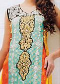 Multicolor Jamawar Chiffon Suit