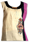 Cream Cotton Kurti