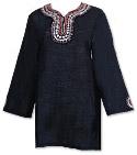 Black Khaddi Cotton Kurti