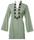 Off-White Khaddi Cotton Kurti