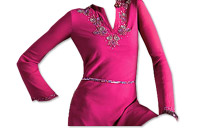 Shocking Pink Georgette Kurti