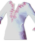 White Khaddi Cotton Kurti