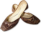 Ladies Khussa- Brown- Khussa Shoes for Women