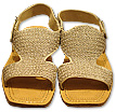Gents Chappal- Light Golden