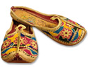 Ladies Slip-on Khussa- Multicolor - Pakistani Khussa Shoes