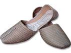 Gents Khussa- Silver/Golden- Khussa Shoes for Men