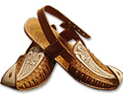 Gents Chappal- Brown- Pakistani Khussa for Men