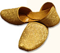 Gents Khussa- Golden- Khussa Shoes for Men