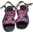 Ladies Chappal - Multicolor- Khussa Shoes for Women