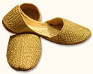 Gents Khussa- Golden- Pakistani Khussa for Men