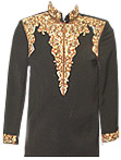Sherwani 114 - Indian Wedding Sherwani Suit