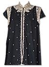 Black Silk Gown Suit