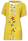 Yellow/White Georgette Suit- Pakistani Casual Clothes