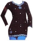 Black/Blue Chiffon Trouser Suit- Indian Dress