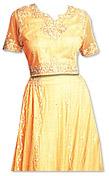 Golden Chiffon Lehnga