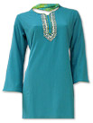 Turquoise Georgette Suit- Indian Dress