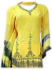 Yellow Chiffon Suit- Indian Dress