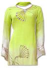 Parrot Green/Pink Chiffon Suit- Indian Dress