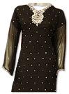 Black Chiffon Suit- Indian Dress