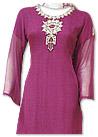 Magenta Chiffon Suit- Indian Dress