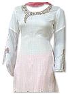 White/Pink Chiffon Suit