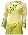 Yellow/Green Chiffon Suit- Indian Dress