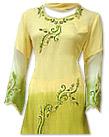 Yellow/Green Chiffon Suit- Indian Semi Party Dress