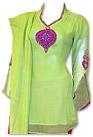 Parrot Green/Magenta Chiffon Suit- Indian Dress