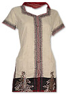 Beige/Maroon Georgette Suit- Pakistani Casual Clothes