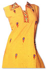 Mustard/Red Georgette Suit- Pakistani Casual Dress