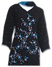 Black/Turquoise Chiffon Suit- Indian Dress