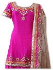 Hot Pink Silk Suit