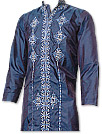 Raw Silk Sherwani Kurta Suit