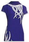 Royal Blue Georgette Suit - Indian Semi Party Dress