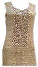 Light Golden Chiffon Jamawar Suit