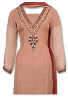 Brown Chiffon Suit- Indian Semi Party Dress