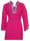 Hot Pink/Turquoise Chiffon Suit