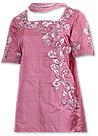 Tea Pink Silk Suit
