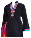 Black/Orange Chiffon Suit- Indian Dress